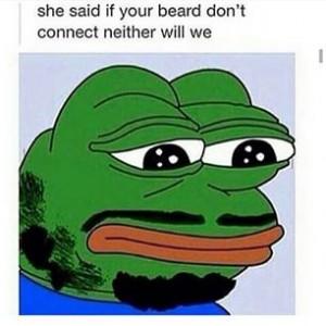 kermit beard