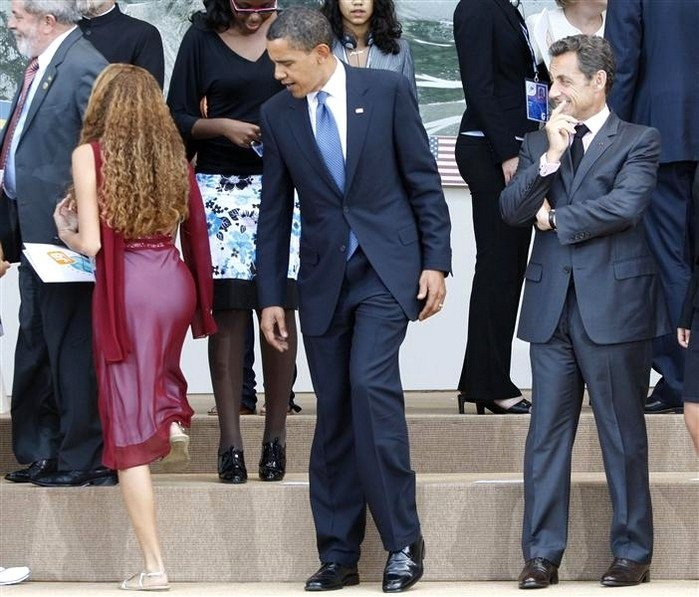 obama checking out