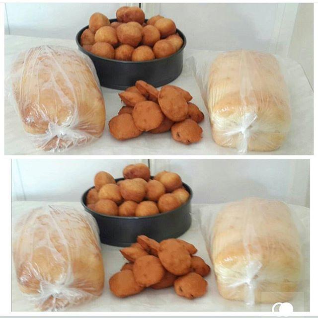 Bread and akara
