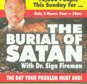 the one about satan's funeral
