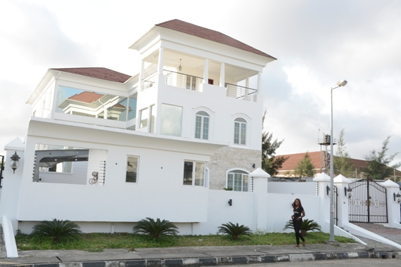 Linda Ikeji new house