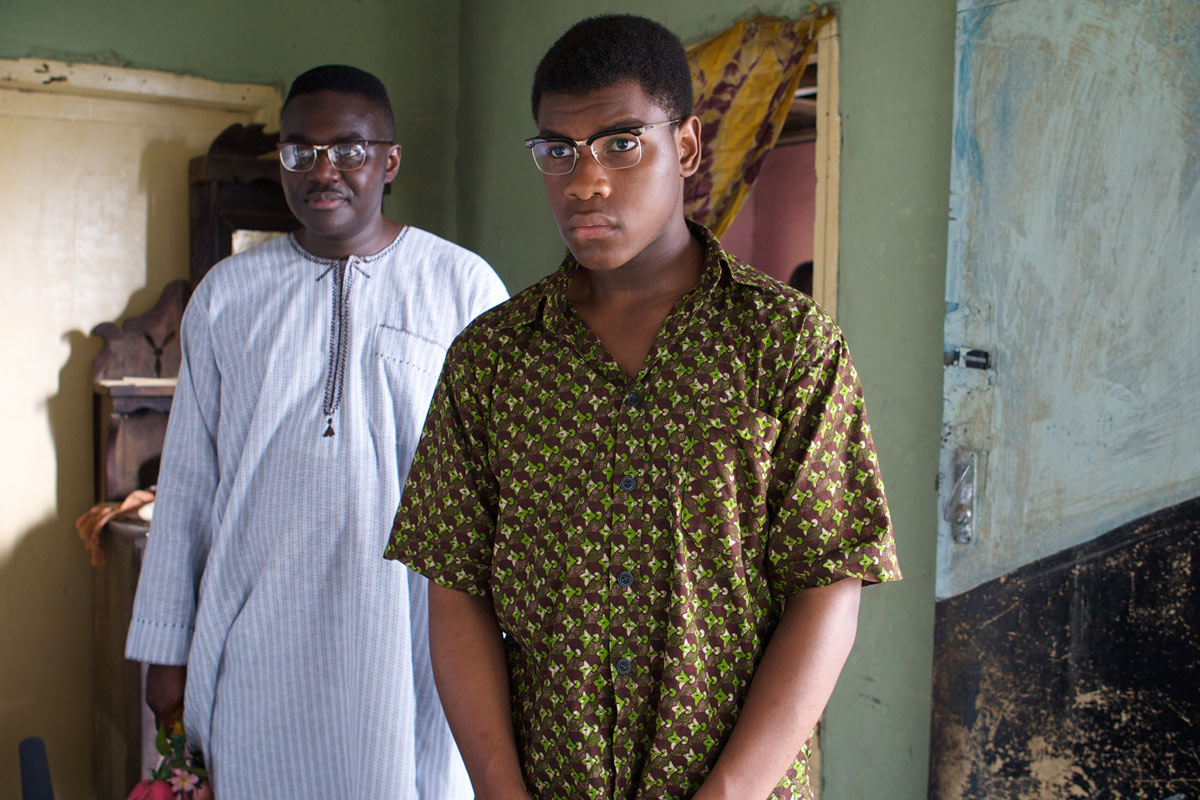John Boyega is popular in Nigeria for his role as Ugwu in the movie adaptation of Chimamanda Adichie's novel, Half of a Yellow Sun.