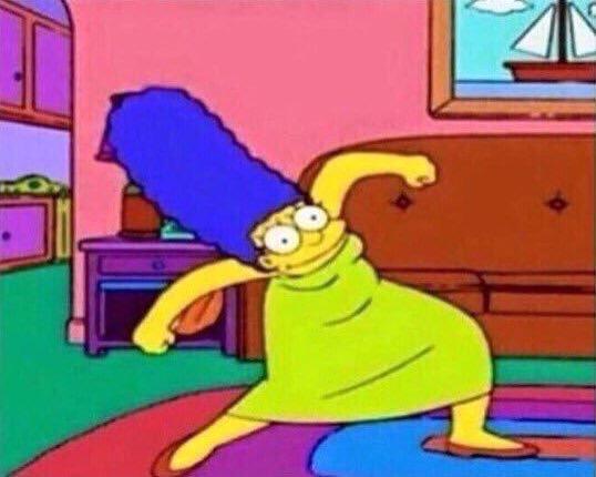 Happy Dance Simpson
