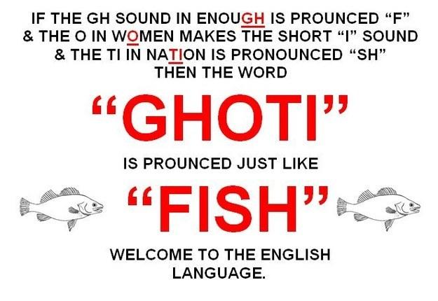 ghoti is fish