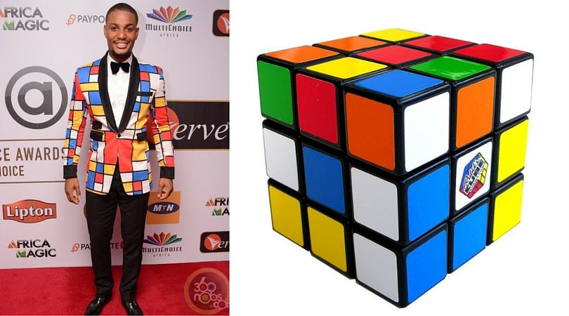 Alex Ekubo AMVCA fashion fail