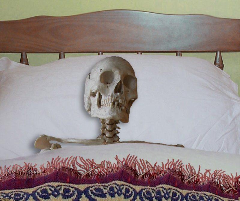 Skeleton-Lying-in-Bed--20762
