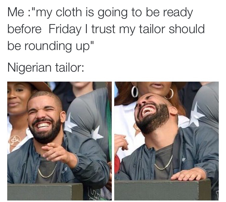 Image result for disappointment by tailors