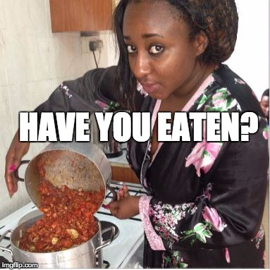Ini Edo Have you eaten
