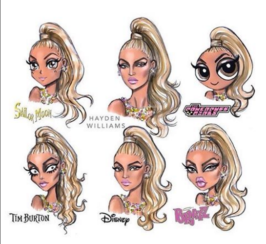 beyonce cartoon