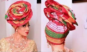 beauty wedding gele