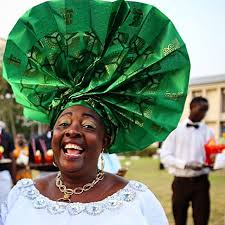 Madam Kofo wedding gele