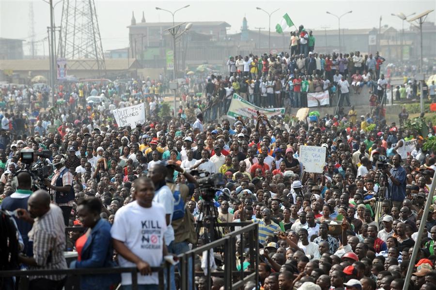 Nigeria nationwide protest