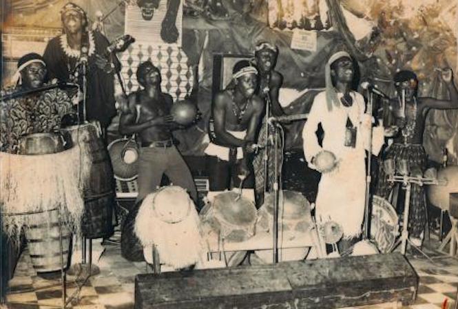 Nigerian highlife band