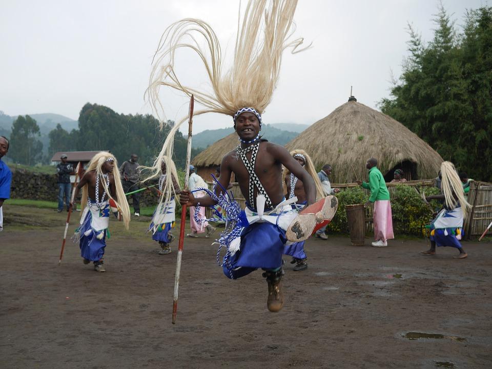 Dancing in Rwanda