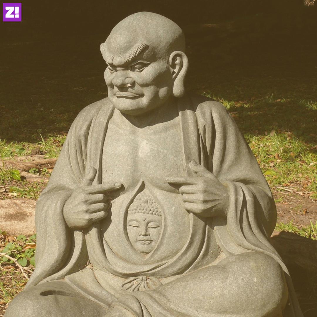 Unsmiling Buddha