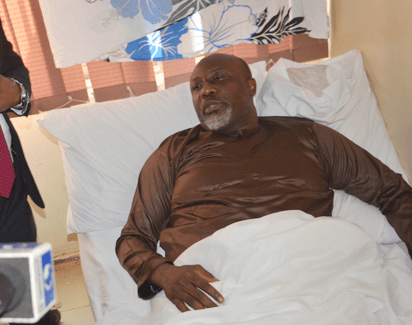 Dino Melaye once claimed to have spent almost half a day on a treetop to avoid abduction.