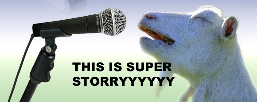Complete the first part of the lyrics of the Super Story theme song, let's see if na mouth you dey chew: This is Super Story...
