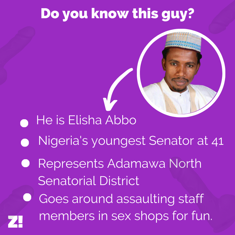 Elisha Abbo shouldn't be allowed in the Nigerian Senate.