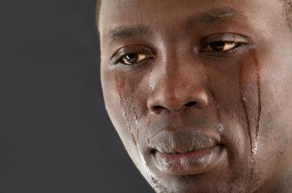 crying man for money Zikoko