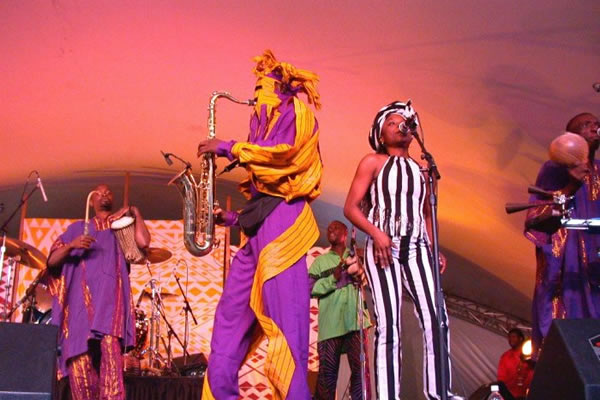 Lagbaja's first music group was formed in 1984.