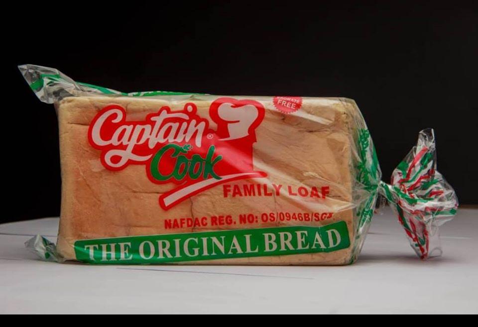 Captain Cook bread, Ilorin