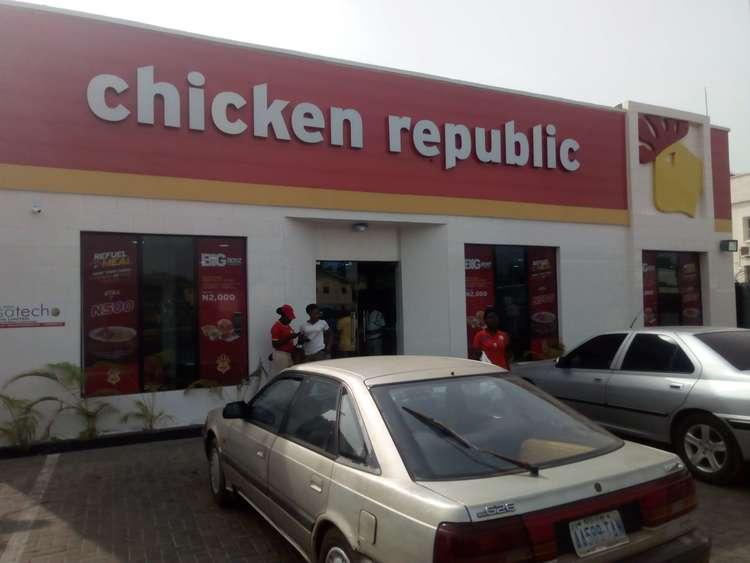 Chicken republic in Ilorin