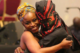 Lagbaja was previously married to Ego Ihenacho and together, both produced hits like 'Never Far Away and 'Fehin ye'