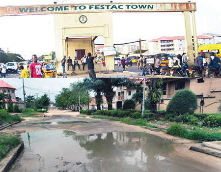 The housing estate (now known as FESTAC Town) cost a whopping $80 million to construct.