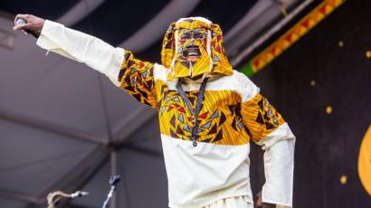 Lagbaja was a headlining act during the 1977 FESTAC.