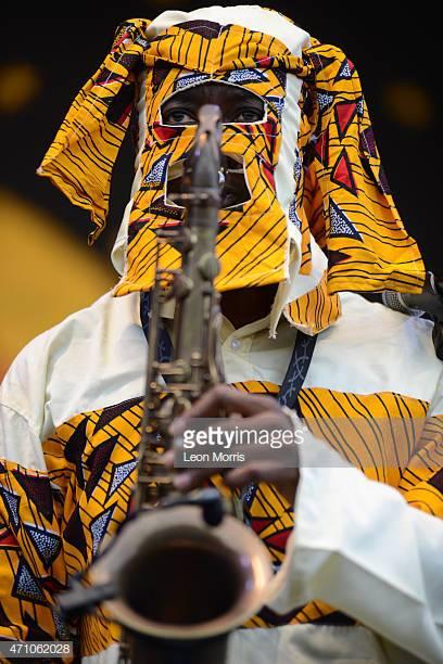 Lagbaja is a self-taught saxophonist.