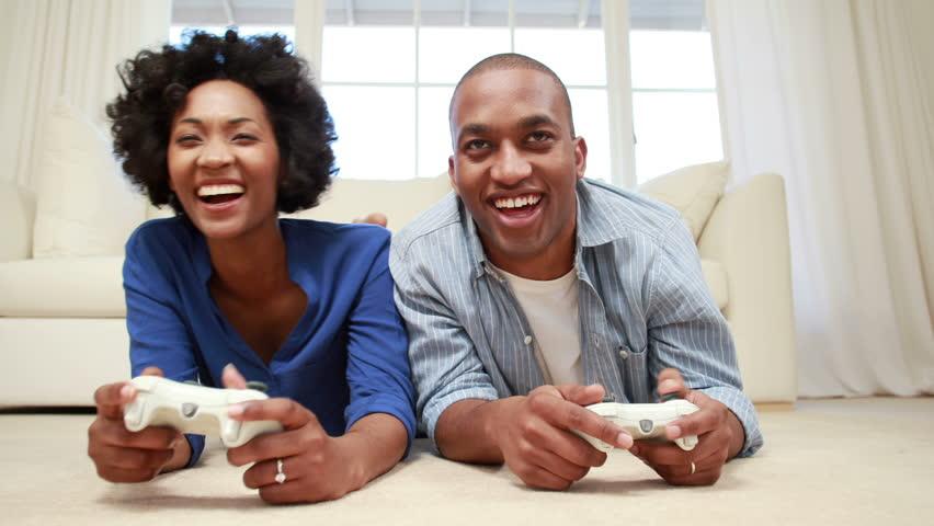 couple playing game Valentine's day Zikoko