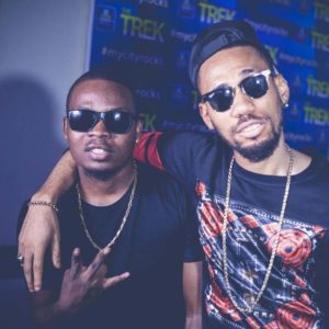 Olamide and Phyno