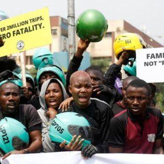 Lagos state bike ban