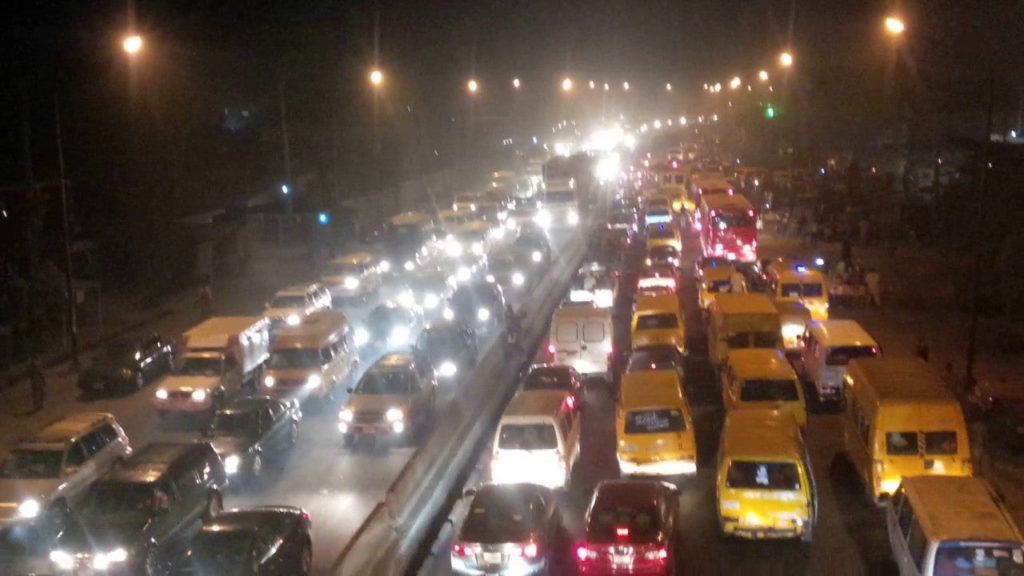 Lagos traffic Valentine's ZiKoko