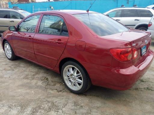2005 corolla car for Zikoko post
