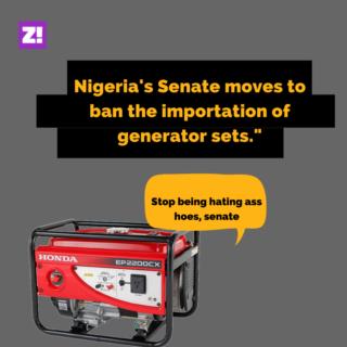 Nigeria generator ban