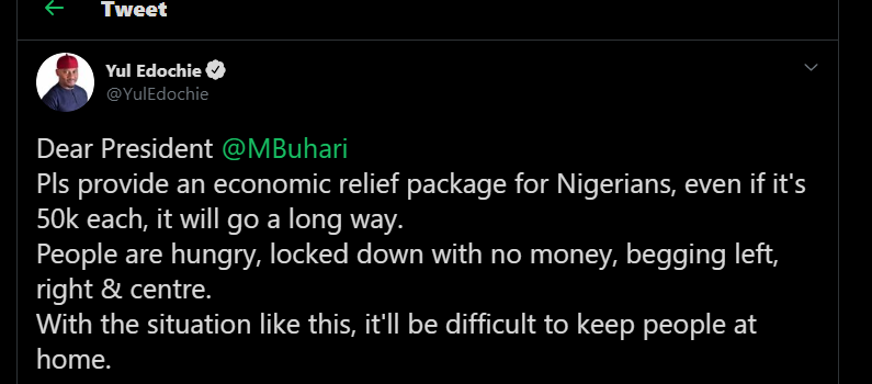 President Buhari's Speech