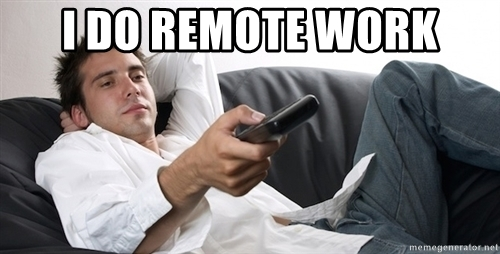 remote work Coronavirus