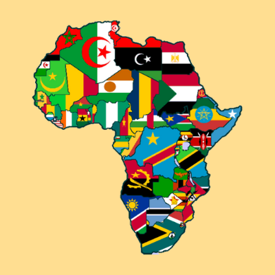 In what year did the first African country gain independence?