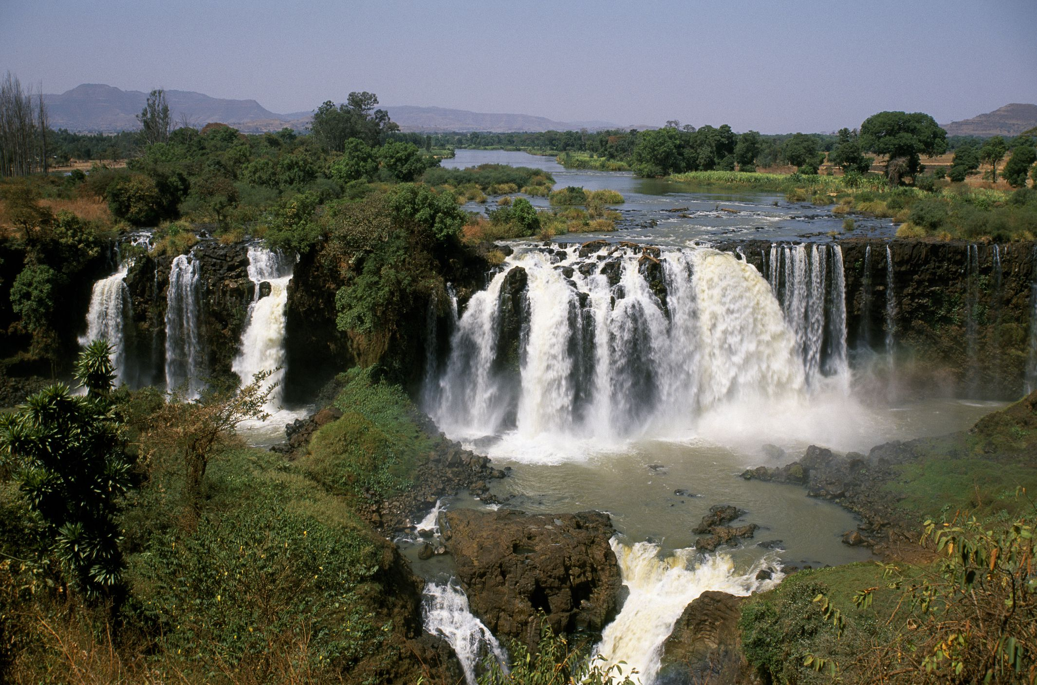 Where is Blue Nile Falls?