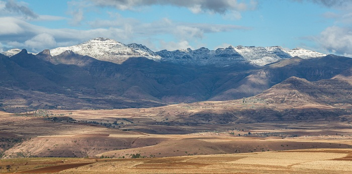 Where is Maloti Mountains?
