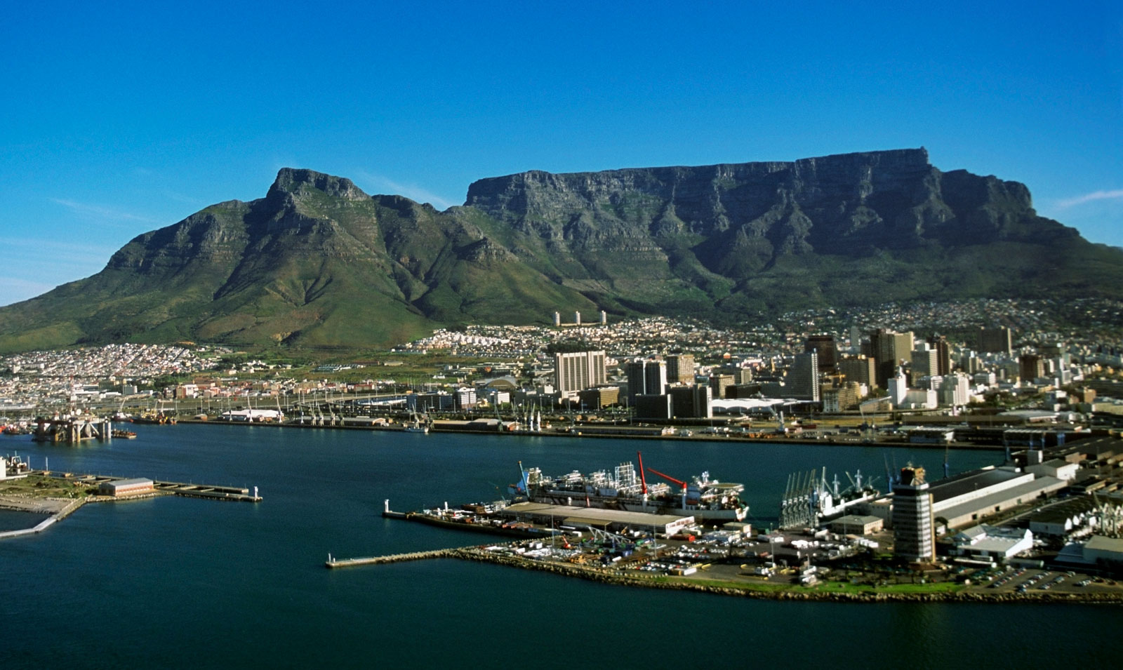 Where is Table Mountain?