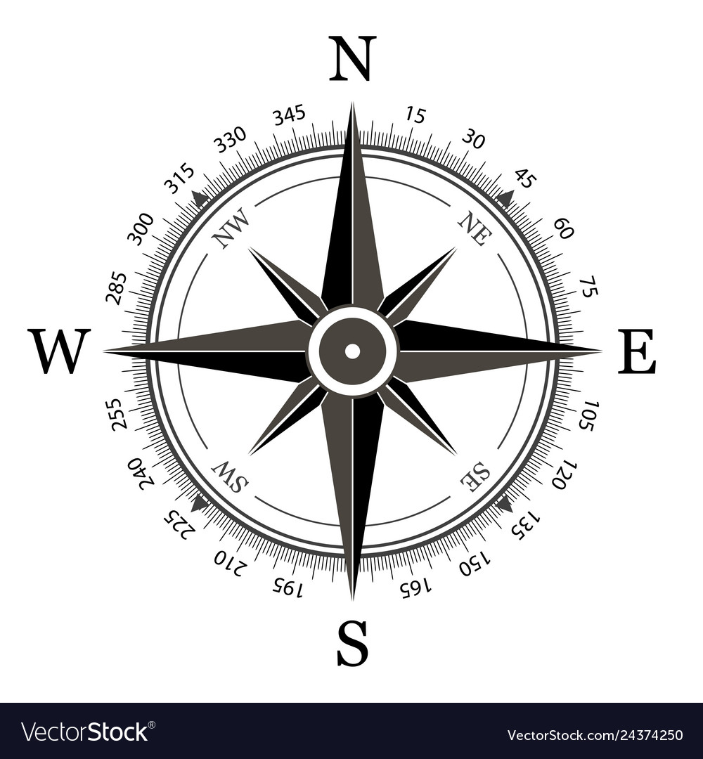 When the needle of a compass is at rest, it points to the