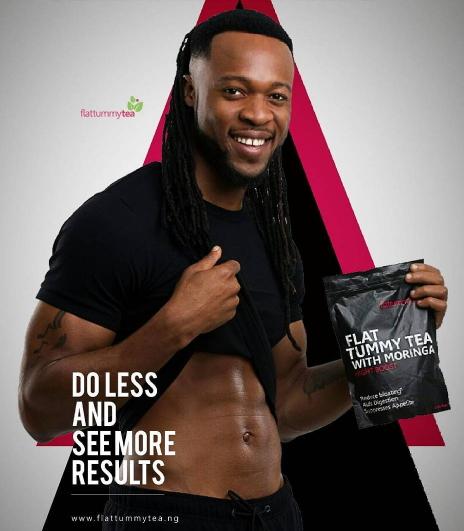 Flavour for Flat Tummy Tea. Nigerian Celebrity Endorsement Deals