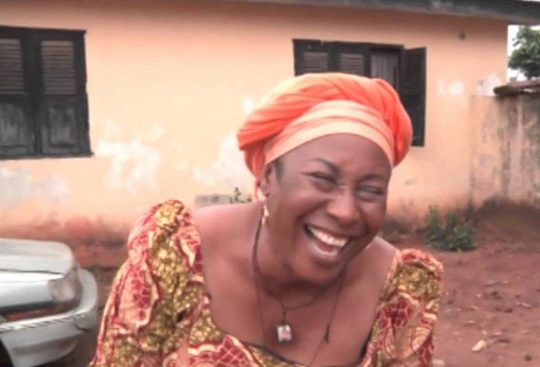Patiencce Ozokwor laughing