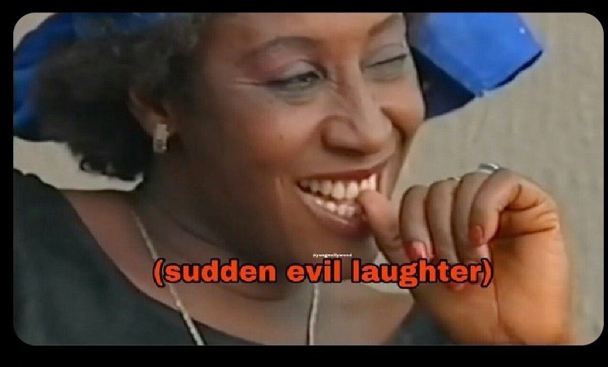 Patience Ozokwor laughing