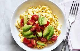 Avocado Breakfast Scramble Recipe — Eatwell101