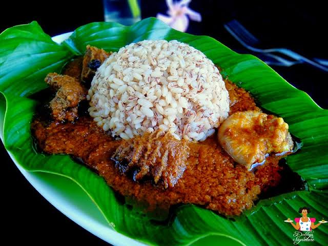 Ofada rice Nigerian foods