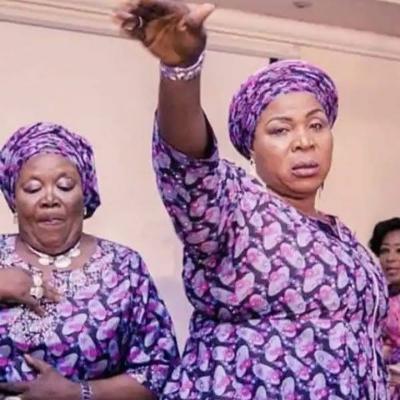 aunties dancing