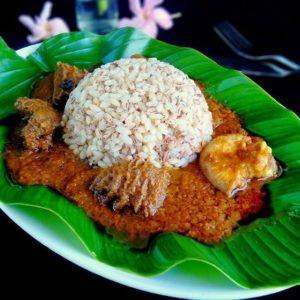 Ofada Rice & Sauce